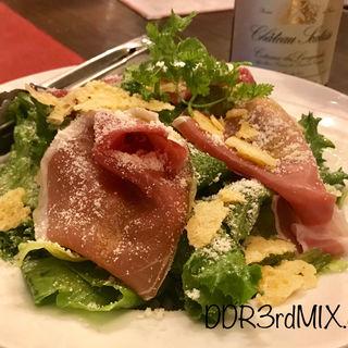 お肉屋さんのサラダ(beer & wine厨房 tamaya 八丁堀店 (タマヤ))