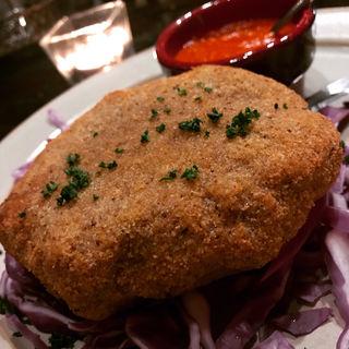 四万十ポークの麹町カフェ特製メンチカツ(麹町カフェ (コウジマチカフェ))