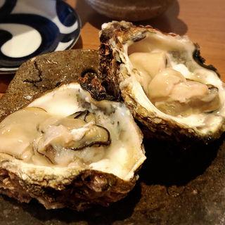 岩牡蠣(藁焼  みかん)