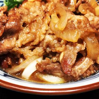 牛山盛りうどん並冷(丸亀製麺梅田店)
