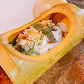 竹筒のビリヤニ(バンゲラズキッチン (Bangera's Kitchen))
