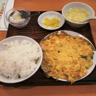 玉子と海鮮の炒め(美山飯店)