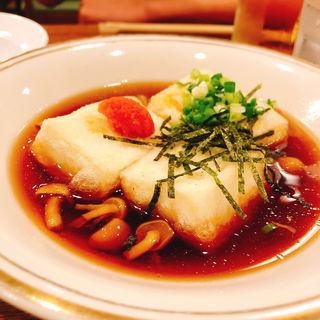 揚げ出し豆腐(神谷バー)