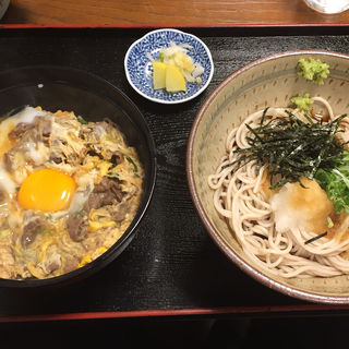他人丼とぶっかけ蕎麦(そば処花りん)