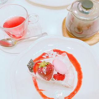 あまおうのクッキークリームタルト(ラ・メゾン アンソレイユターブル ルミネ立川店 (La Maison ensoleille table))