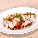 中華風蒸し鶏 ネギソース(HOP STAND 神戸モザイク店)