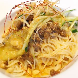 冷やし担々麺風冷製パスタ(リトルモンスター )