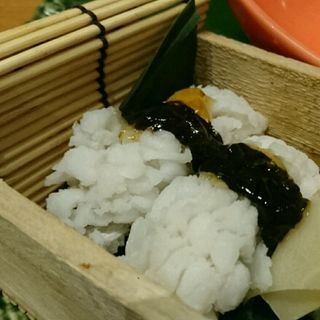 鱧の炙り寿司(権之介 梅田店 (ごんのすけ))