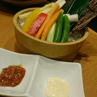 彩り野菜のスティックサラダ(権之介 梅田店 (ごんのすけ))