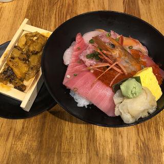 豪華虎杖海鮮丼(ハレの日食堂 )