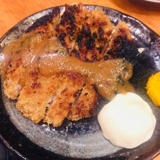 焼きメンチ(もつ焼き煮込み鶴田 )