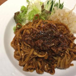 汁なし坦々麺(担々麺 錦城 春日井店 (たんたんめん きんじょう))