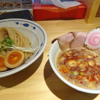 サバ濃厚鶏辛つけ麺(サバ6製麺所 阪急梅田店)