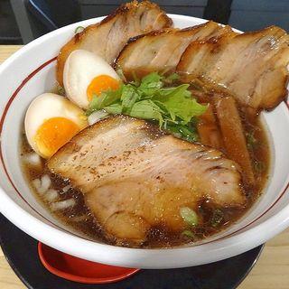 醤油チャーシューめん(拉麺 輪)