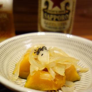 かぼちゃの煮物(博多町家 喫茶&酒舗 みねとこ)