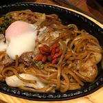 上海太麺焼そば(とりひめ なんば千日前店 )