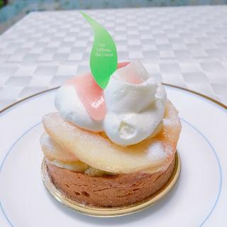 白桃のタルト(パティスリー アーブル)