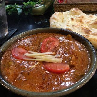 ■ポークマサラカレー(インド料理 シャティ (Shathi))