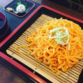 柿うどん(松本屋 (マツモトヤ))
