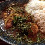インド風カレー(チキン×野菜)