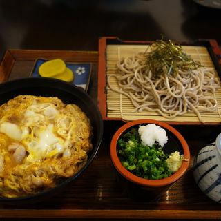 親子丼定食(そば処 いとう)