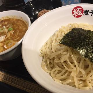 辛煮干し豚骨つけ麺/麺375g(極煮干し本舗 狸小路4丁目店)