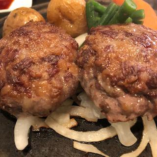 チョップドハンバーグステーキ(レストランオークラ)