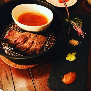 和牛の燻製(nakameguro 燻製 apartment)