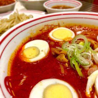 冷し味噌卵麺(限定)(蒙古タンメン中本 新宿店 (もうこたんめんなかもと))