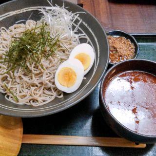坦々冷しつけ蕎麦(ぶんぶく庵 )