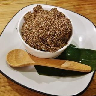 辛子ポテサラ(東京馬焼肉 三馬力 (さんばりき))