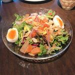 江戸前銀ジャケマリネのサラダ