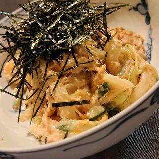サラダうどん(にくてん割烹鈴 (ニクテンカッポウベル))