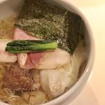 柚子薫る塩煮干しsoba/清湯