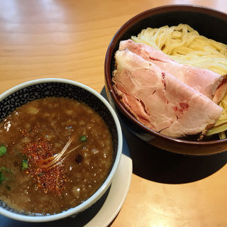豚骨魚介つけ麺 特(セアブラノ神 壬生本店 )