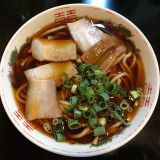 中華そば 並 (太麺)(中華そば さるぱぱ)