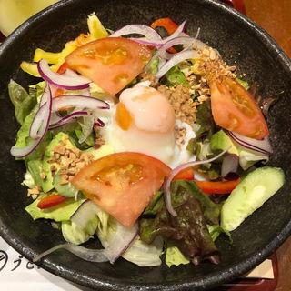 サラダうどん(うどん棒 大阪本店)