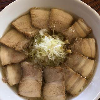日本海藻塩チャーシューメン