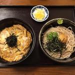 木の葉丼とミニおろし蕎麦