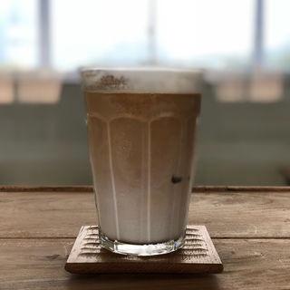 アイスカフェオレ(一湊珈琲焙煎所)