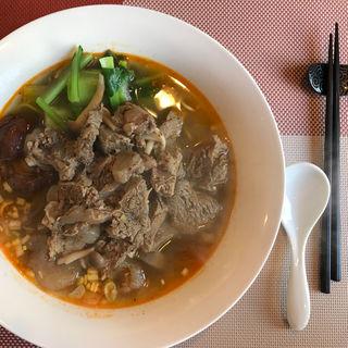 和牛牛スジマーラー麺(広東厨房 結杏〜yuan〜)