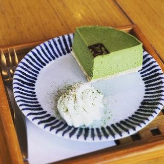 抹茶チーズケーキ(京はやしや 京都三条店 (きょうはやしや))