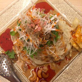冷やし担担麺(175°DENO担担麺 TOKYO)
