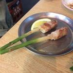 肉巻き谷中生姜