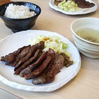 牛たん定食(牛たん若 仙台駅東口店)
