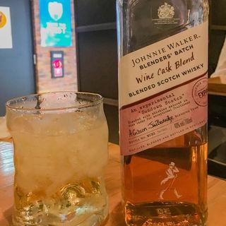 Johnny  Walker wine cask(W YOKOHAMA)