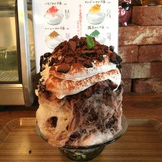 クッキー&クリームかき氷(期間限定)(トルナド )