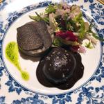 潰しジャガイモとトリュフ卵のポーチドエッグ(ル・ジャルダン・デ・サヴール)