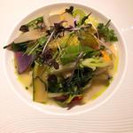 温野菜のガルグイユ