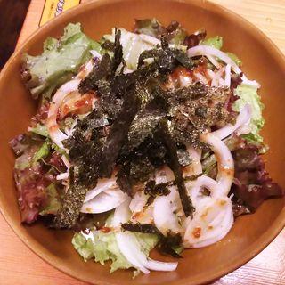 さっぱり旨みサラダ(鳥貴族 武蔵新田店 )